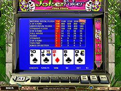 video poker strategie
